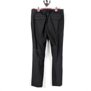 Gap Modern Boot Trouser Sz 12 R Black Dress Pants
